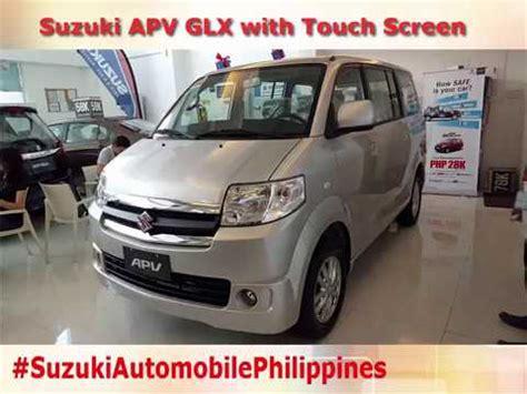 Suzuki Apv Silver suzuki apv glx with touch screen monitor silver