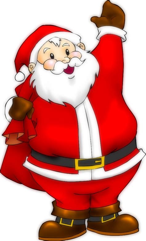 we love blogging santa claus by maria