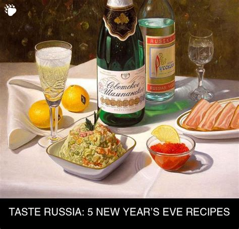 new year delicacies recipes 5 russian new year s recipes winter is coming