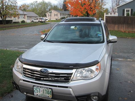 subaru forester limited edition 2010 subaru forester limited edition crossover