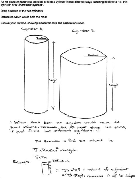How To Make Cylinder With Paper - arc a4 paper cylinder kerry