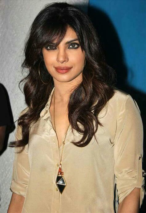 hairstyles of indian actresses best 74 ode to priyanka chopra images on pinterest