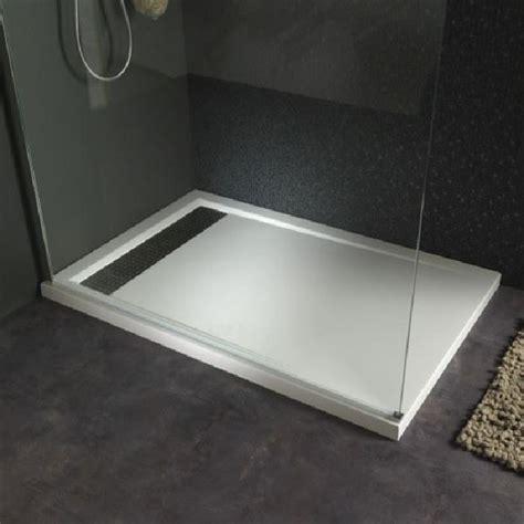 receveur plat 120x80 receveur plat 224 poser design 80x120 blanc achat vente receveur de receveur