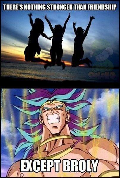 Broly Meme - dragon ball z broly memes