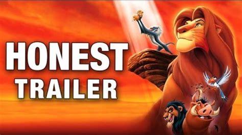 film lion trailer lion king the honest movie trailer collegehumor video