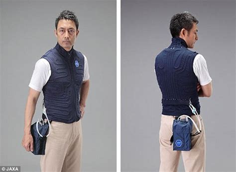cooling coat jaxa creates coat that keeps you cool during the summer daily mail
