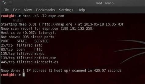 nmap attack tutorial hack like a pro how to conduct active reconnaissance and