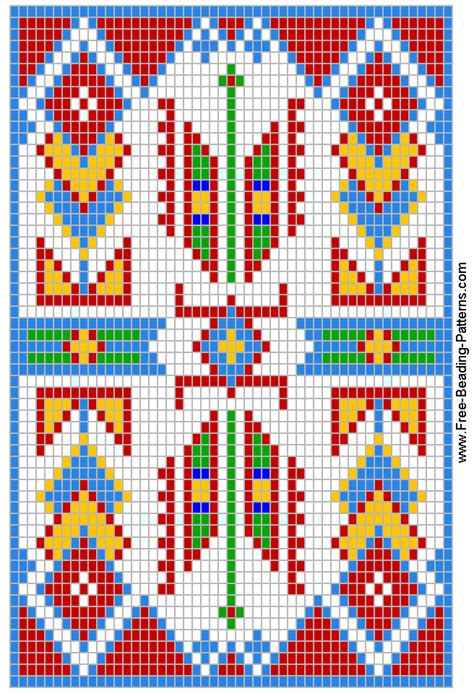 free loom beading patterns warrior s medicine bag free loom beading pattern