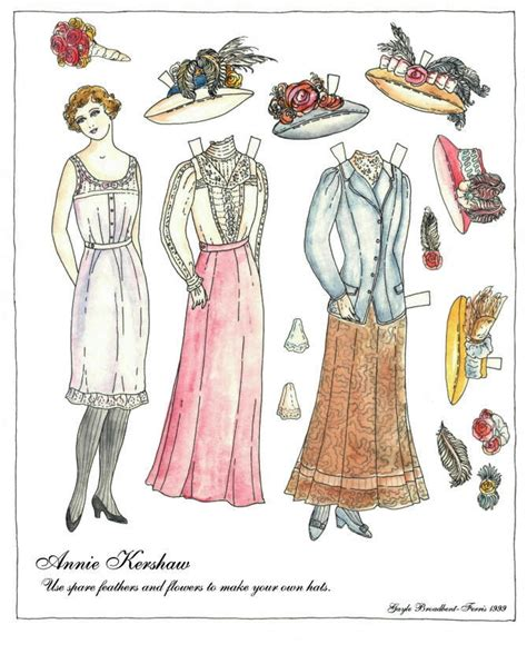 Paper Doll For - i paper dolls two thousand things