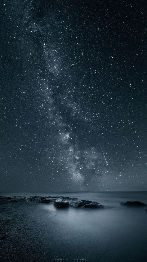 apple wallpaper with stars the stars in the galaxy tap to see more beautiful nature