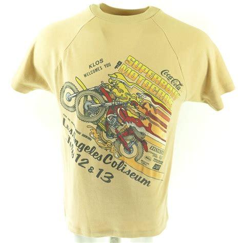 motocross gear los angeles vintage 80s motocross t shirt mens l los angeles