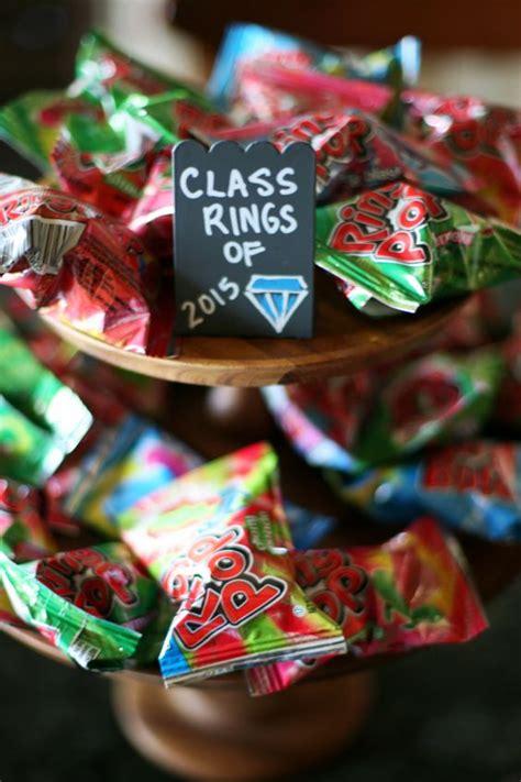 Theme Names For Graduation | graduation themed candy dessert bar candy bars