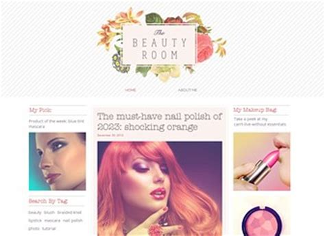 free templates for blogger beauty beauty blog website template wix