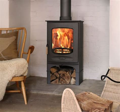 Living Rooms With Wood Burning Stoves Wood Burning Stove Living Room Pinterest