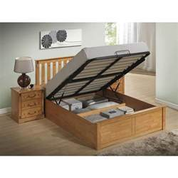 Wood Frame Ottoman Bed Stanley Ottoman Stoarge Wooden Bed