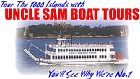 uncle sam boat tours singer castle partnerships singer castle on dark island usa