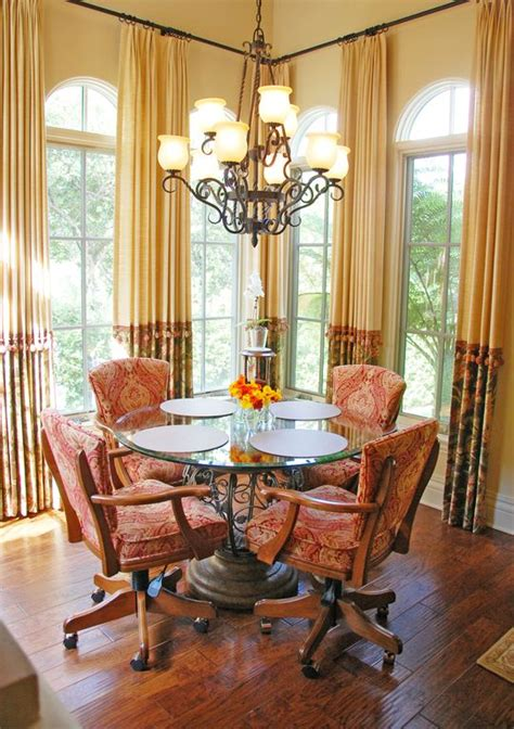 eclectic dining room  chandelier  keesee