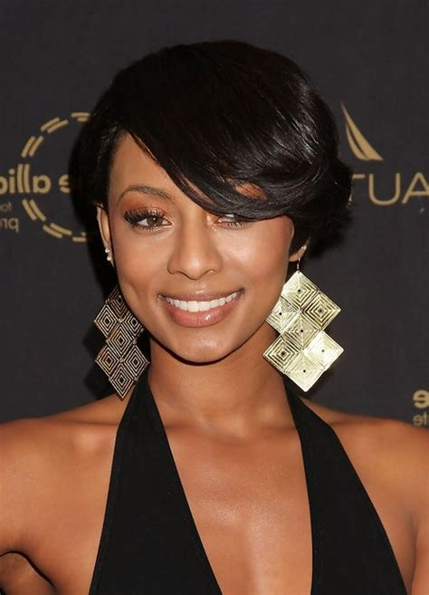 side swept hairstyles for blacks side part bang black hairstyles images