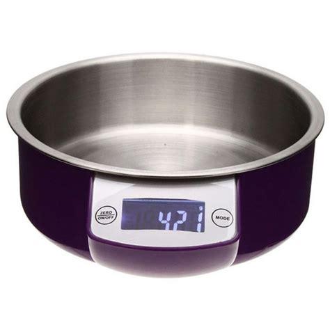 balance de cuisine avec bol balance 233 lectronique de cuisine bol inox maison fut 233 e