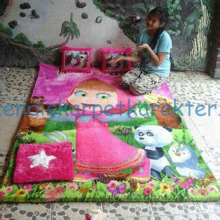 Karpet Karakter Boneka harga karpet set di kutai barat sendawar karpet