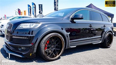 audi q7 modified 4k garage ill gecko audi q7 modified ガレージイル アウディq7カスタム