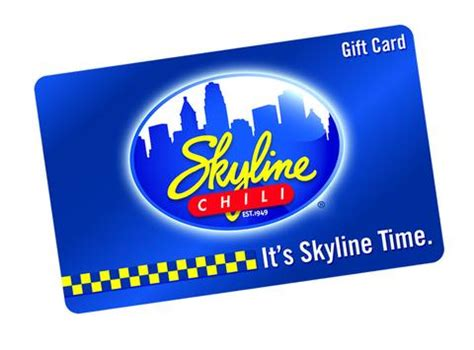 Chili Gift Card - gift cards skyline chili retail store