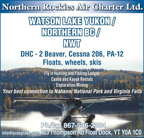 foto de fishing london charter and guide service northern rockies air charter ltd watson lake yt 123