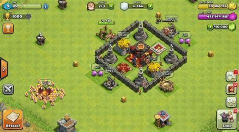 download game coc mod vinsi download clash of clans 7 1 1 modded apk unlimited money