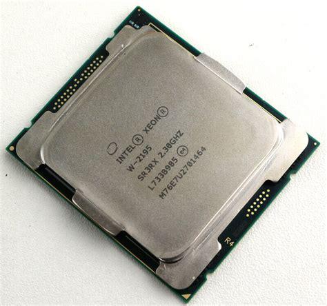 best xeon processor intel xeon w 2195 18 36 thread lga2066 processor
