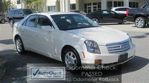 White Cadillac Cts by Cts 2007 Cadillac Cts V6 White 1 Owner