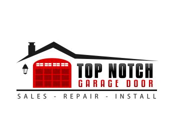 garage door logos logo design entry number 44 by made in top notch garage door logo contest