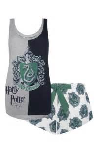 Slytherin harry potter pj set