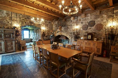 Mansion Interior inside castle stalker man those french taunters had a