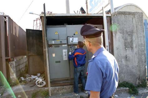 cabina elettrica enel palermo un lotto di due palazzine allacciato abusivamente