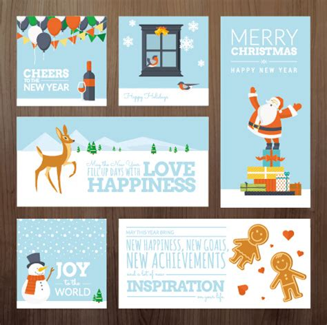 free new year 2015 greeting card templates 2015 and new year greeting cards kit vector free