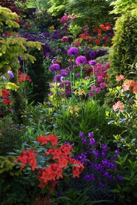 Secret Flower Garden Shade Border Gorgeous Gardens