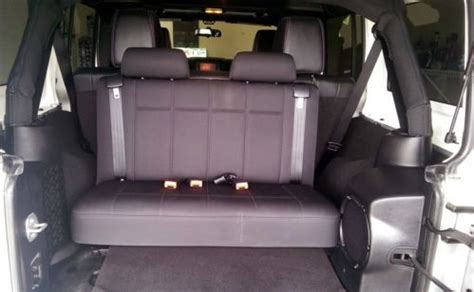 Jeep Wrangler Unlimited 3rd Row Seat Purchase Used 2012 Jeep Wrangler Unlimited Silver 3 5