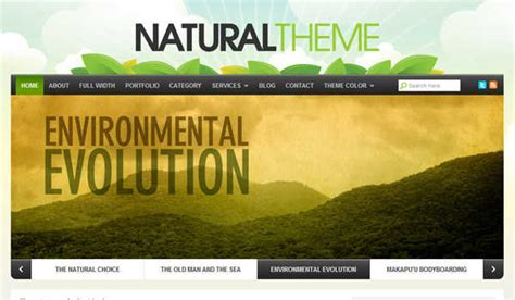 themes wordpress nature 5 top wordpress themes to choose for your eco friendly