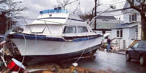 hurricane sandy boats how to repair a boat after a hurricane business insider