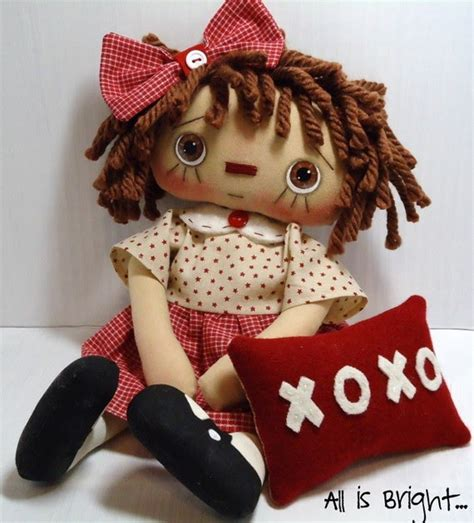 Handmade Raggedy Dolls For Sale - handmade teddy bears and raggedies handmade hugs and