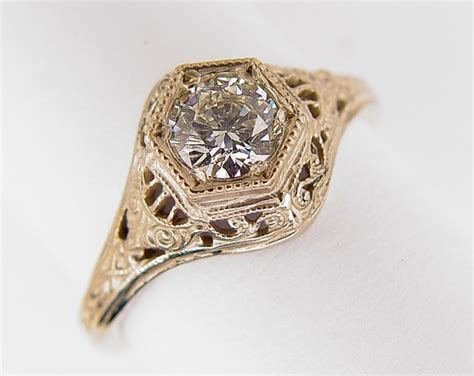 Antique Rings by Ring Designs Antique Filigree Ring Designs