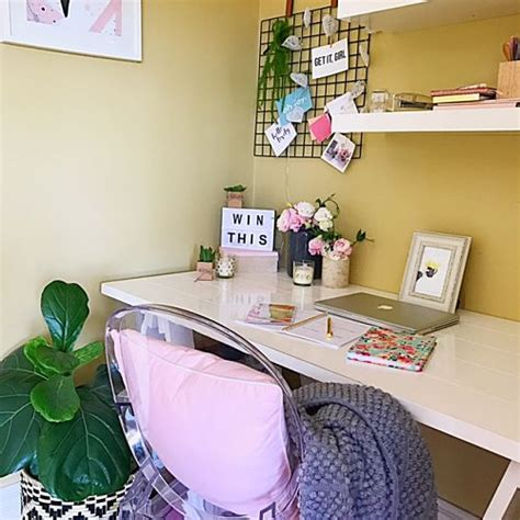 Reject Shop Desk by Office Makeover For From The Reject Shop The Stylist