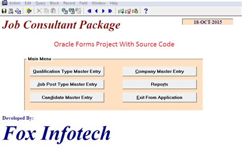 oracle forms and reports books free oracle forms and reports project for students