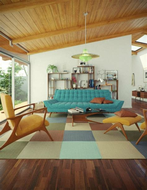 Living Room Decor Ideas With Mid Century Modern Sofas Mid Century Modern Living Room Chairs