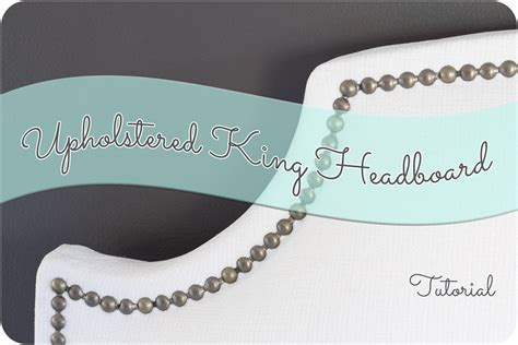 upholstered headboard nailhead trim upholstered king headboard with nailhead trim
