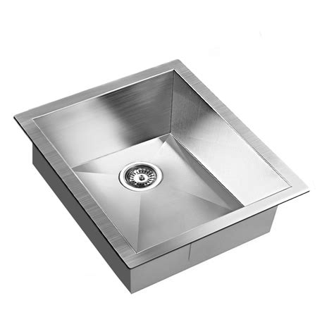 buy stainless steel sink stainless steel sink w waste strainer 390x450mm buy