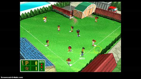 backyard baseball gameplay backyard baseball 2003 gameplay pt1 youtube