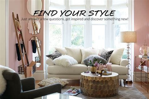 pottery barn look style finder quiz pottery barn