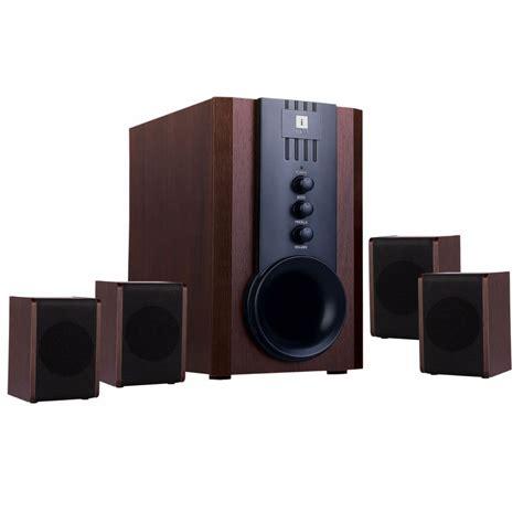 buy iball tarang 4 1 multimedia speaker brown