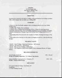 skilled labor trades resume occupational exles sles free edit with word
